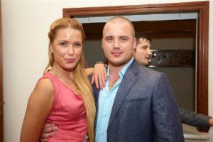 Оксана Ряско с братом
